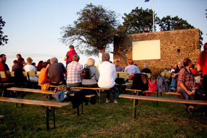 Filmabend auf der Obernburg. Archivbild: nh