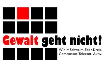 Gewalt geht nicht. Logo: nh