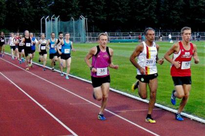 Nach einem Drittel der Strecke lag Lorenz Funck noch gut im Feld. Foto: nh