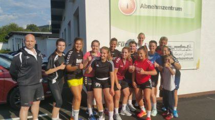 Die TSV-Damen bei der Sport- & Freizeit-Galerie. Foto: TSV | nh