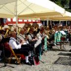 Gastspiel der Egerländer Musikanten auf dem Sommersamstagskonzert am 22.07.2017. Foto: nh