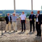 Von links: Jürgen Kaufmann, Hilmar Löber, Volker Steinmetz, Eugen Knoth und Andreas Hadler. Foto: nh