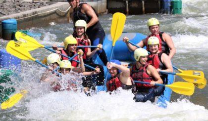 Zur Teambildung gehören auch gemeinsame Freizeitaktivitäten. Foto: SG 09 Kirchhof