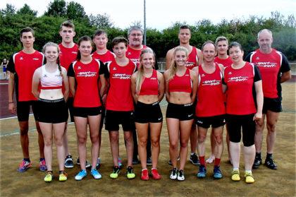 Das MT-Team, das in Neukirchen an den Start ging. Foto: nh