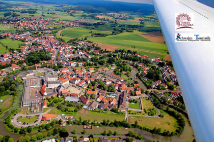Festung Ziegenhain wird Station der europäischen Kulturroute Festungsmonumente - FORTE CULTURA®. Foto: Schwalmfoto.de