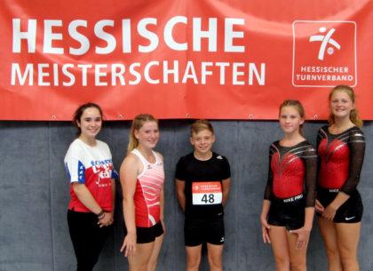V.l.: Rebecca Kreuz (Betreuerin), Sonja Philipp, Jonathan Feilcke, Luna Grösch, Nele Schmoll. Foto: Christian Khin