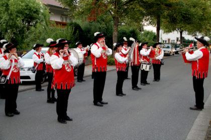 Der Spielmanns- und Fanfarenzug Kleinenglis wird den diesjährigen Lampionumzug beim Stadtparkfest am Freitagabend, 8. September, ab 19 Uhr musikalisch begleiten. Foto: no