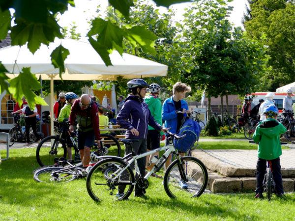 Die Tour de Chattengau ist als Radspaß für die ganze Familie konzipiert. Foto: nh