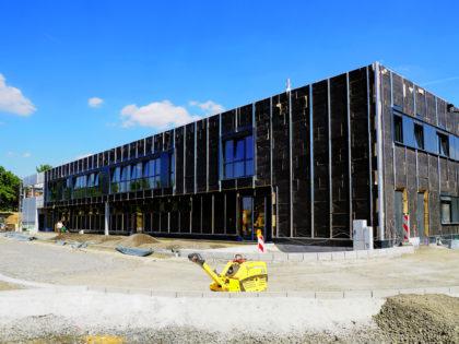 Neubau des Feuerwehrhauses der Stadt Gudensberg. Foto: nh