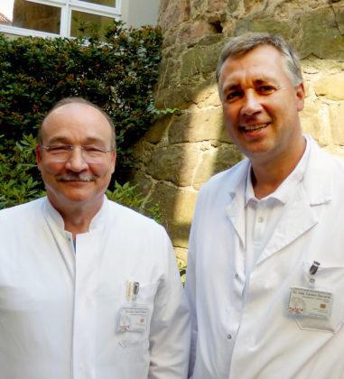 Dr. med. Hubert Bölkow (li.) und Dr. med. Carsten Bismarck. Foto: nh