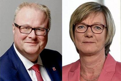 Dr. Thomas Schäfer und Edith Sitzmann.<br /> Fotos: HMdF (li); Ministerium für Finanzen Baden-Württemberg (re.) | beide nh