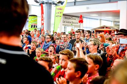 Bundesligist MT Melsungen lädt zur Sommerparty mit Fan-Aktionen. Foto: A. Käsler