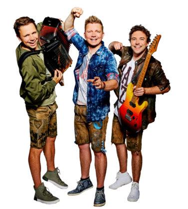 """Die DORFROCKER sind mittlerweile die erfolgreichste Stimmungsband Deutschlands. Im Frühjahr waren sie erstmalig für den """"Echo"""", den bedeutendsten Musikpreis Deutschlands, nominiert. Sie sind beim diesejährigen Stadtparkfest der Top-Act am Samstag, 8. September, bei freiem Eintritt. Foto: no"""