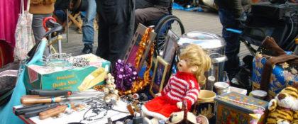 Der Straßenmarkt auf Einladung des Unternehmerrings macht immer wieder Lust aufs Stöbern. Foto: ursew/hjp