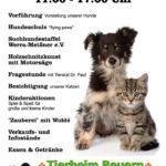 Plakat zum Fest im Tierheim