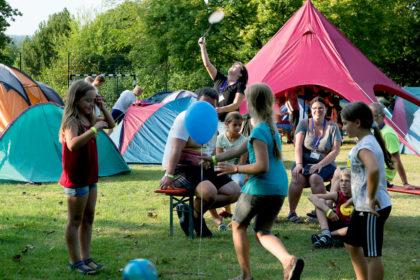 Wer beim integrativen Zeltlager dabei sein will, kann sich nur noch bis 15. August anmelden. Foto: nh