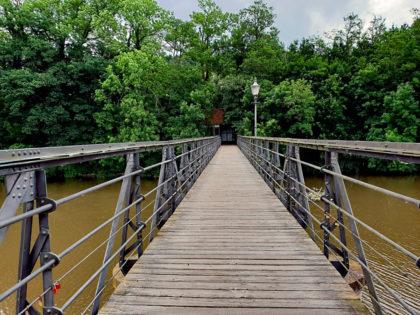 Zwei-Pfennig-Brücke. Foto: nh