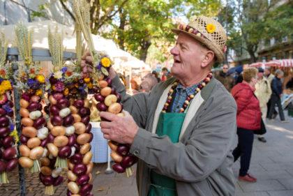 Der Sonderzug fährt zum Zwiebelmarkt nach Weimar. Foto: Candy Welz