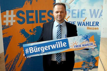 Engin Eroglu, Landesvorsitzender und Spitzenkandidat FREIE WÄHLER Hessen. Foto: nh