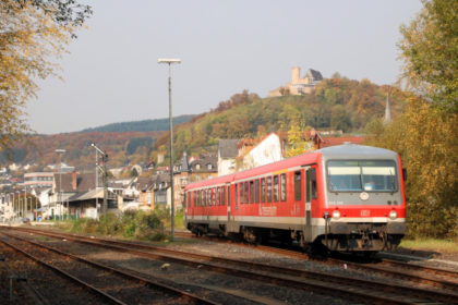 Obere Lahntalbahn, Biedenkopf. Foto: Gregor Atzbach