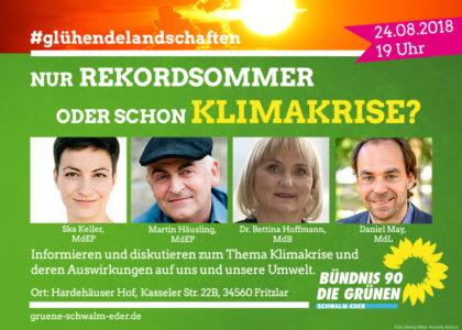 Bündnis'90 / Die Grünen laden zur Diskussion in den Hardehäuser Hof ein. Foto: nh