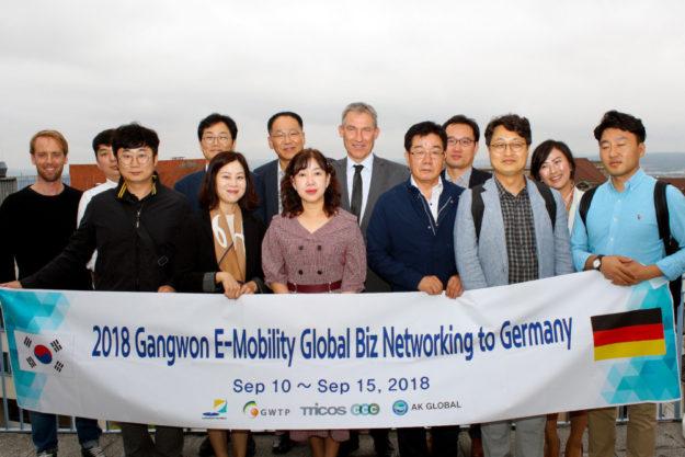 Das südkoreanische Industrieministerium sucht in Sachen Elektromobilität strategische Partnerschaften in Nordhessen. Foto: nh