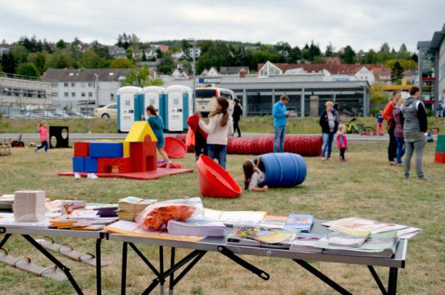 Mit Sport, Spiel und Spaß nahm die Sportjugend Schwalm-Eder an der Melsunger Wiesn teil. Foto: Nohl