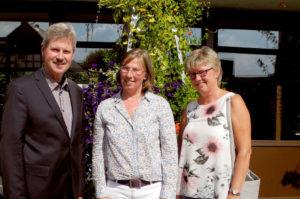 Bürgermeister Klemens Olbrich, Geschäftsführerin Almut Boller und Martina Kohlhase, Marketing und Tourismus (v.l.). Foto: nh
