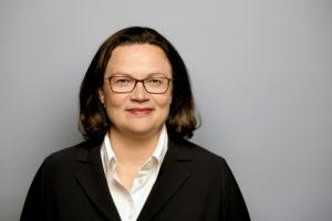 Andrea Nahles, Vorsitzende der SPD-Bundestagsfraktion. Foto: nh