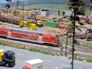 Forstwirtschaft und Schienenverkehr sind infrastrukturell eng miteinander verwoben. Foto: Jörg-Dieter Klatt