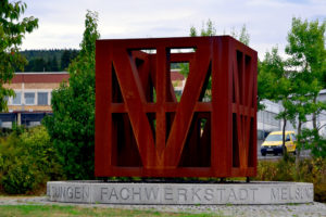 Ortseingang Fachwerkstadt Melsungen. Foto: Schmidtkunz