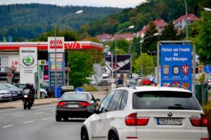 Melsungen, B83, Partner und Freunde der Stadt Melsungen. Foto: Schmidtkunz