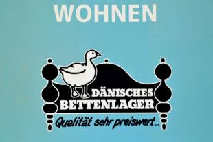 Logo, Dänisches Bettenlager. Foto: Schmidtkunz