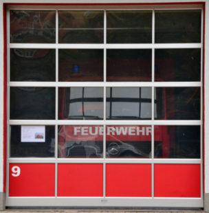 Feuerwehr, Feuerwache Homberg, Garage 9. Foto: Schmidtkunz