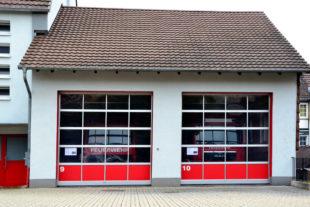 Feuerwehr, Feuerwache Homberg, Garagen 9 und 10. Foto: Schmidtkunz