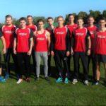 Das erfolgreich Männer-Team der MT Melsungen