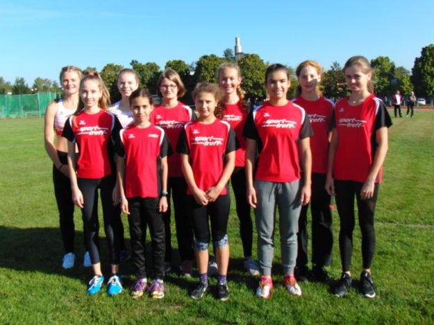 Das erfolgreiche Schülerinnen-Team der MT 1861 Melsungen. Foto: nh