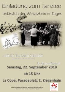 Die Alzheimer Gesellschaft Schwalm-Eder e.V. (© Foto) lädt zum Tanztee.
