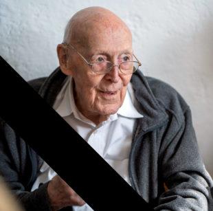 Fritz Buschart starb am 04.09.2018 im Alter von 98 Jahren. Foto: nh