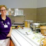 Beim freundlichen Cantinen-Personal im Hospital zum Heiligen Geist gibt es für wenig Geld einen prima Start in den Tag. Foto: Gäck