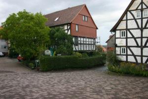 """Das Gasthaus Stamm wird zum Treffpunkt von """"Hör mal im Denkmal"""". Foto: nh"""