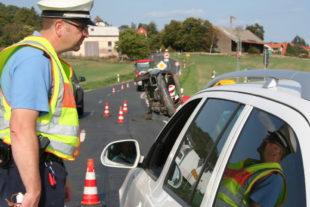 """""""Europäischer Tag ohne einen Verkehrstoten – EDWARD"""". Foto: Polizei"""