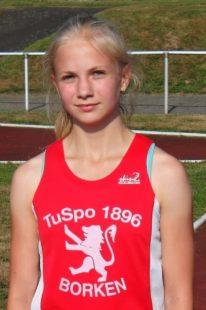 Josephine Otto, die überragende Athletin. Auch beim Sprint-Cup sorgte sie über 75 m mit 9,72 Sekunden für das Highlightunden. Foto: nh
