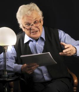 Mundart-Satiriker Karl Garff. Foto: nh
