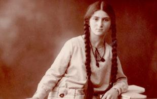 Margret Goldschmidt im Alter von elf Jahren im Jahr 1927. Foto: BTHS Schulmuseum