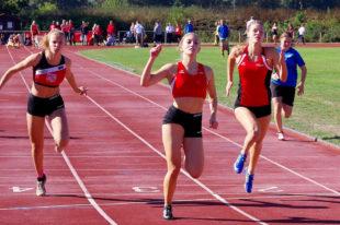 Nach ihrem Auftaktsieg im Speerwerfen sicherte Sophia Hog der MT auch im Sprint die volle Punktzahl. Foto: nh
