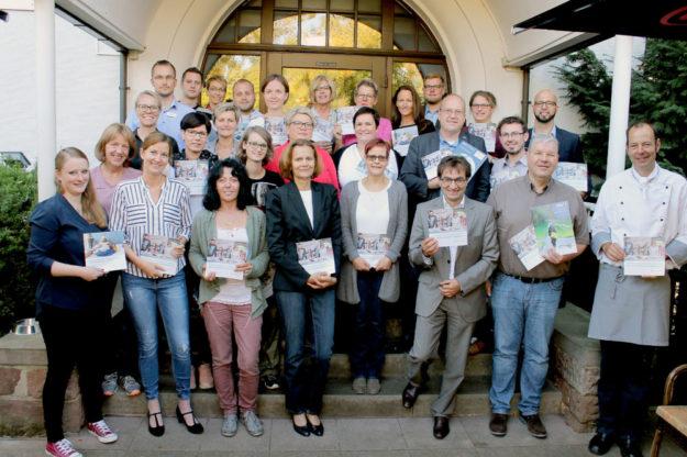 Das Asklepios Bildungszentrum für Gesundheitsfachberufe Nordhessen hat mehr 30 Interessierten die neuen Fort- und Weiterbildungsangebote vorgestellt. Foto: Asklepios | Dietz