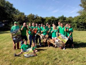 Das Stadtparkfest wird durch Borkener Vereine unterstützt. Foto: nh