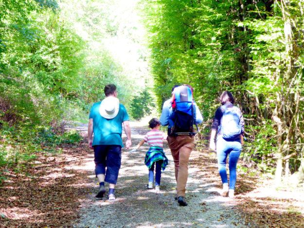Wer wandert, genießt eine erholsame Auszeit und erweitert seinen Horizont. Foto: nh
