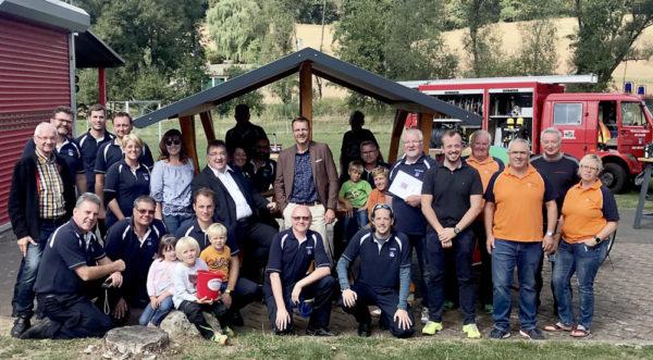 Die Adelshäuser Dorfgemeinschaft will noch enger zusammenwachsen und hat sich einen neuen Dorftreff gebaut. Foto: nh